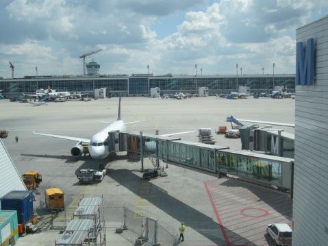 Escala em Munique, voos da Lufthansa